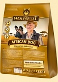 Wolfsblut - Сухой корм для мелких пород African Dog Small Breed (Африканская собака из мяса дикой птицы, батата, тыквы и пастернака). Белок: 32%, Жир: 16%.