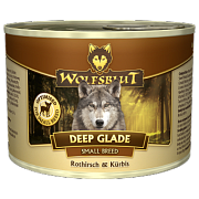 Wolfsblut Deep Glade SMALL BREED (Дальняя поляна) - Консервы для мелких пород собак с олениной и тыквой. Белок: 11%, Жир: 8%